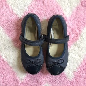 Clarks Other - Clarks Navy Mary Jane Shoes
