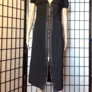 Iceberg Dresses & Skirts - High-waisted black Pencil skirt/full length zipper