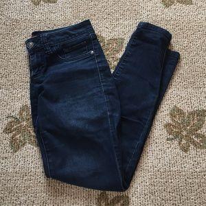 Elle Denim - Elle Dark Skinny Stretch Jeans- Size 2R