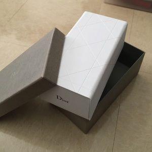 Dior eyeglasses box