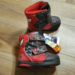 Spiderman Other - Spiderman boots NWT