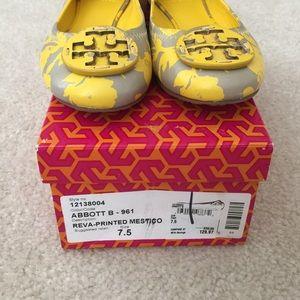ed38500159fb Tory Burch Shoes - PRICE REDUCED Reva Printed Tory Burch Flats