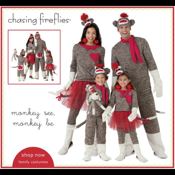 73cc3877106 Women's Chasing Fireflies Sock Monkey Costume