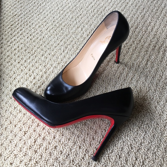 ba997c856fc Christian Louboutin Shoes - Christian Louboutin 4-inch black pumps