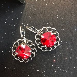 Jewelry - Handcrafted earrings with Swarovski crystals #15