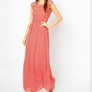 ASOS Dresses & Skirts - Club L Crochet Maxi Dress