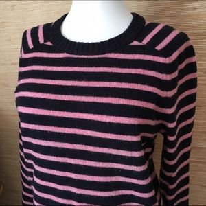 Striped Wool Crewneck Sweater