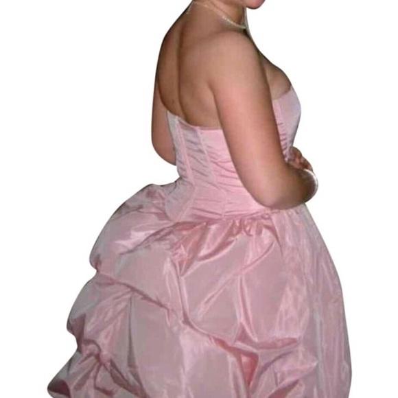 Jessica Mcclintock Bustle Princess Prom Ball Gown | Poshmark