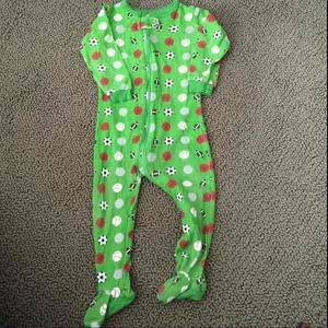 Other - Leveret Baby Zipper Pajamas Sports 12-18 months