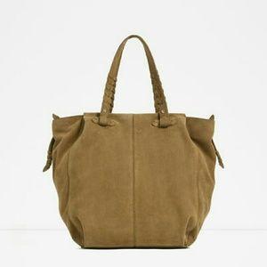 Zara leather totes  (4101)