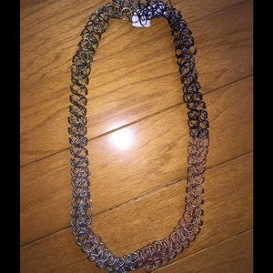Jewelry - Multi-Color Open Wire Chain Link Necklace
