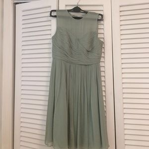 "JCrew ""Clara"" dress in Dusty Shale"