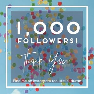 Other - My first 1K Followers!