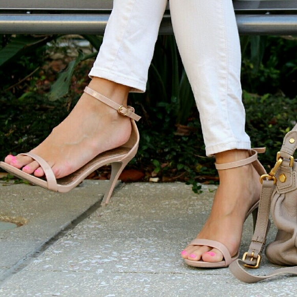 356026dce7c3 Nude blush Kailey Ankle Strap Pump