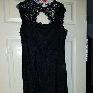 Black Adrianna Papell Cocktail Dress