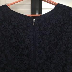 Cynthia Steffe Dresses - Cynthia Steffe navy lace dress size 6