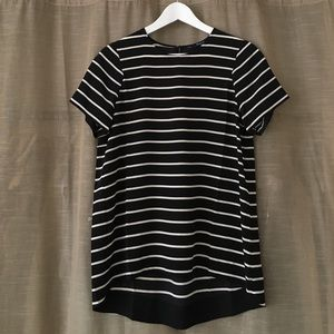Madewell Silk Striped Top