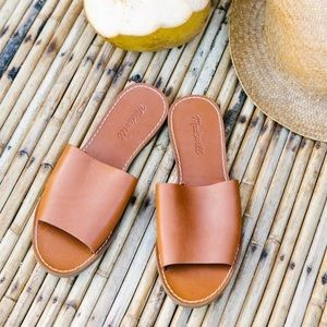Madewell The Boardwalk Simple Slide Sandal