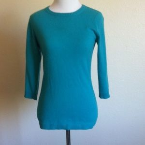 Autumn Cashmere Sweaters - 100% Cashmere Autumn Cashmere 3/4 Sleeve Sweater