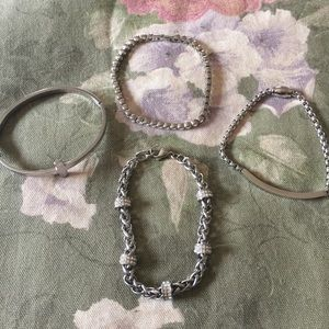 Steel by Design Jewelry - Steel by Design crystal tennis bracelet