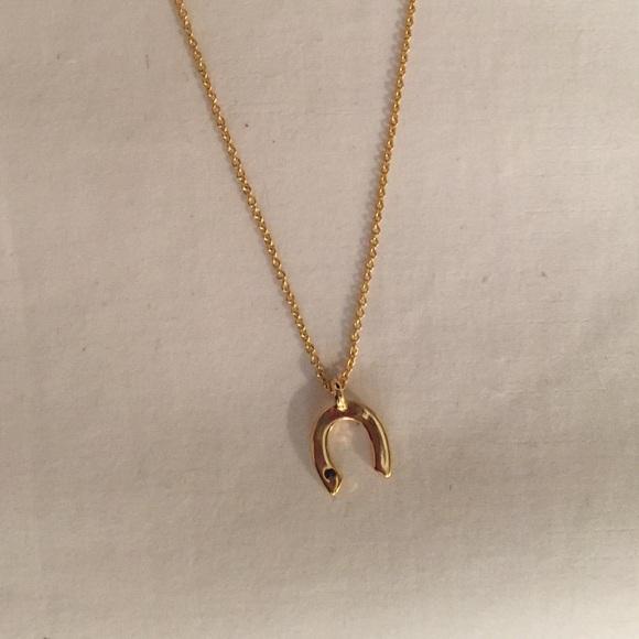 74 wren jewelry wren 14k gold horseshoe necklace w