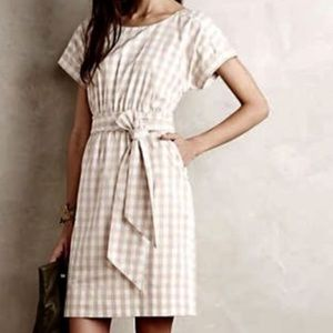 Anthropologie Dress so pretty plaid
