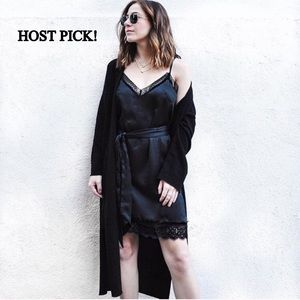 Mango Dresses & Skirts - ❤️HOST PICK!❤️ Mango Black Lace Dress