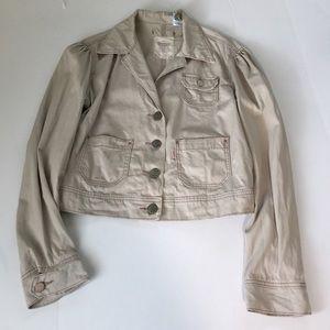 Levi's Tab Twills Beige Denim Jacket, size M