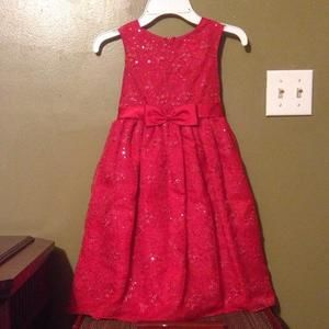 Other - Rare Editions fancy dress red size 6