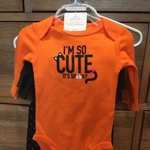 NWT Halloween set- just one you Carter's at 🎯 3 m