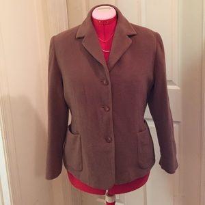 Petite Sophisticate Jackets & Blazers - Petite Sophisticate Wool Jacket
