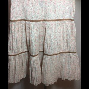 NWOT Marc Jacobs Tiered Flowered Mini Shirt Size 2