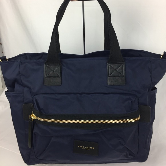 Marc Jacobs Nylon Biker Tote or Baby Bag 3e20284031bf7