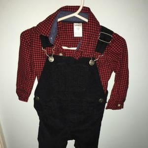 Carters Other - 2pc overall set