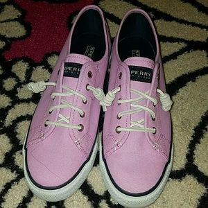 Pink Purple Sperry's