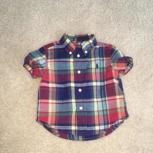 Polo Ralph Lauren  Other - Ralph Lauren Plaid shirt