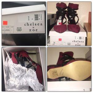 Chelsea & Zoe Shoes - Chelsea & Zoe NWT and box strap heels