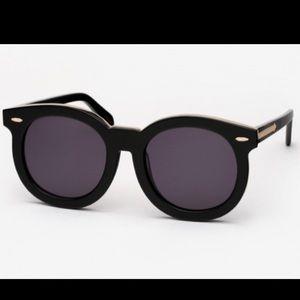Karen Walker Accessories - Karen Walker Super Duper Thistle sunglasses black