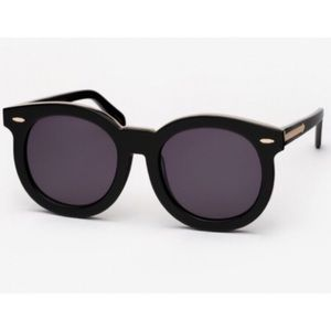 Karen Walker Super Duper Thistle sunglasses black