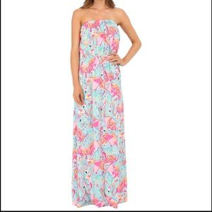 Lilly Pulitzer Marlisa Peel and Eat Maxi Dress