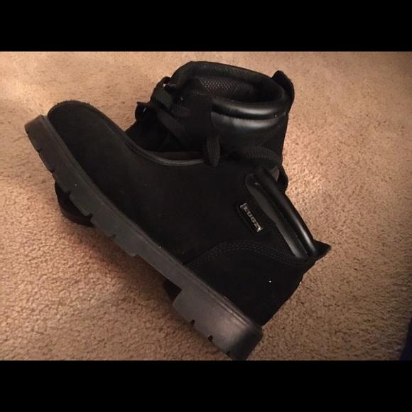 Shoes   Black Suede Lugz Boots   Poshmark