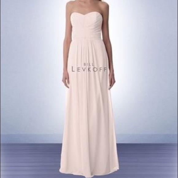 95eccc94d4b Bill Levkoff Style988 Bridesmaid Petal Pink SIZE10