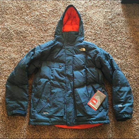 69d5983d1 NEW! Men's North Face gitter down jacket; large NWT