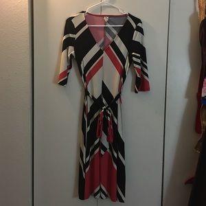 Sangria Flowey Dress