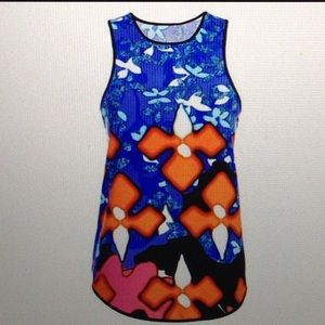 Peter Pilotto Tops - Colorful artsy floral tank