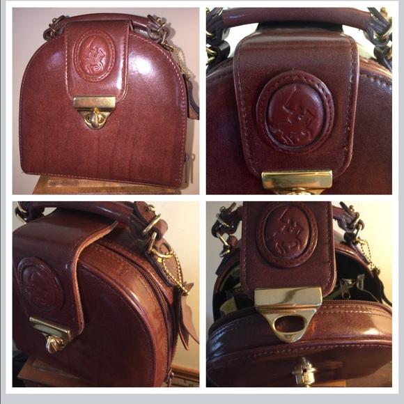 1873ecf138 Vintage Polo Ralph Lauren suitcase luggage purse. M 5803eb2cc6c7957cf101645f