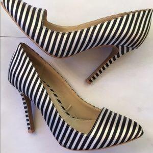 Standout Striped Heels