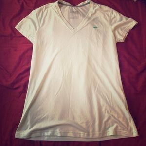 Nike dri-fit short sleeve work out top