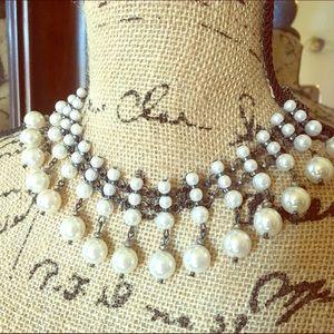 🔮Beautiful pearl choker