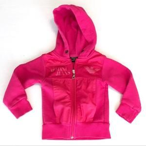 Armani Junior Other - ARMANI Pink Sweatshirt Hoodie